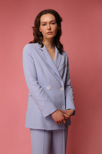 shop jacket sky blue by Capsule Studio on thergeenlabels.com