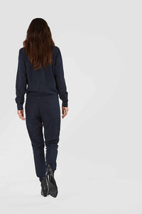 shop stephanie jumpsuit blue black by Kings Of Indigo at thegreenlabels.com