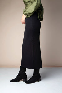 shop gemma ante black boots by mireia playa at thegreenlabels