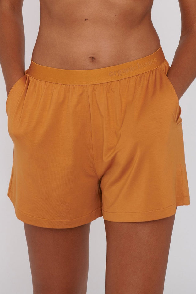 TENCEL™ lite shorts ocher