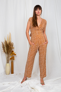 shop paulina jumpsuit by Poppy Field on thegreenlabels