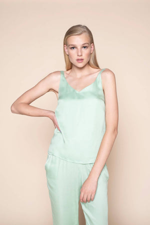 camisole mint mojo by Le Nap on thegreenlabels