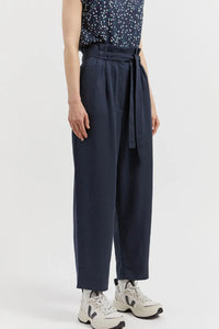 shop timeaa pants frozen blue by ARMEDANGELS on thegreenlabels