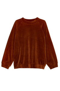 shop toulon o-sweater brick by jan n june at thegreenlabels