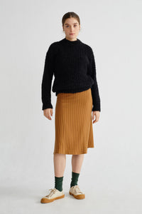 Shop cotys sweater black by Thinking Mu on thegreenlabels