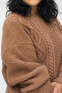 paola wool sweater camel