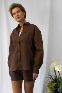 shop chocolate mocha shirt by Capsule Studio on thegreenlabels
