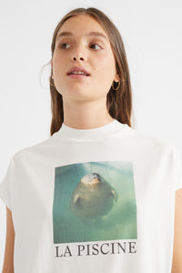 shop animal t-shirt white by thinking mu on thegreenlabels