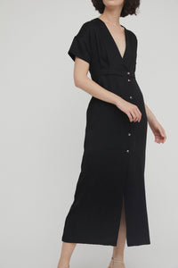 Shop enya dress black by Rita Row on thegreenlabels