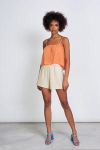 Shop leonie sloip top papaya by Jan´n´June on thegreenlabels
