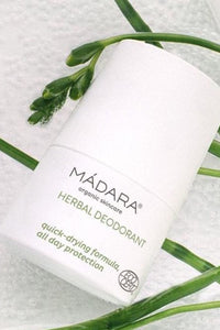 shop herbal deodorant by Mádara on thegreenlabels