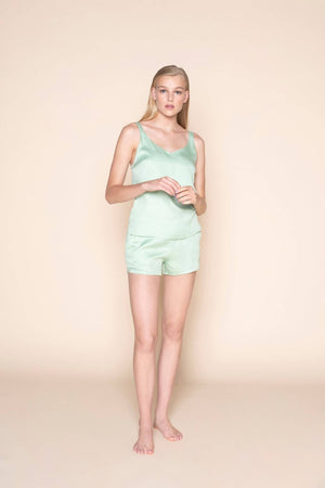 shorts mint mojo by Le Nap on thegreenlabels