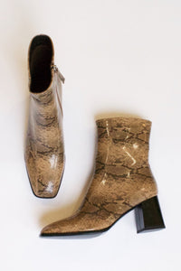 shop roka boots snake skin by collection & co at thegreenlabels
