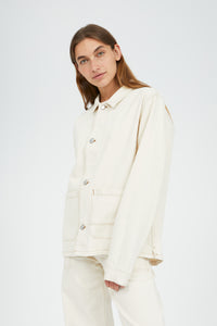 Shop skylaar jacket undyed by ARMEDANGELS on thegreenlabels