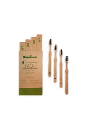 bamboo toothbrushes by Bambaw on thegreenlabels