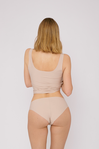 cheeky briefs 2-pack black by Organic Basics on thegreenlabels | oak