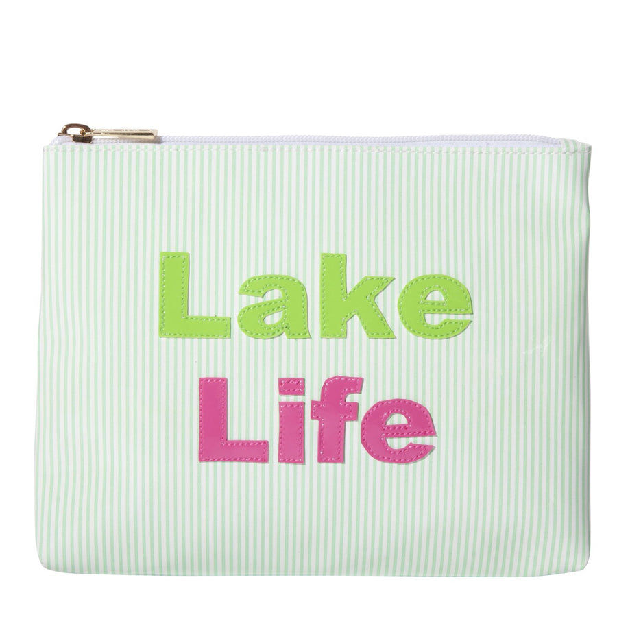 Green Striped Alice with multicolor lake life