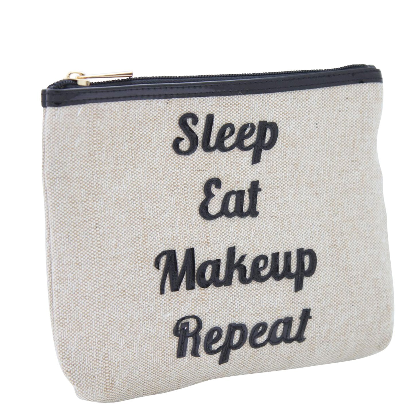 Alice in canvas with black sleep eat makeup repeat