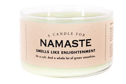 "Namaste Candle ""Smells like enlightenment"""