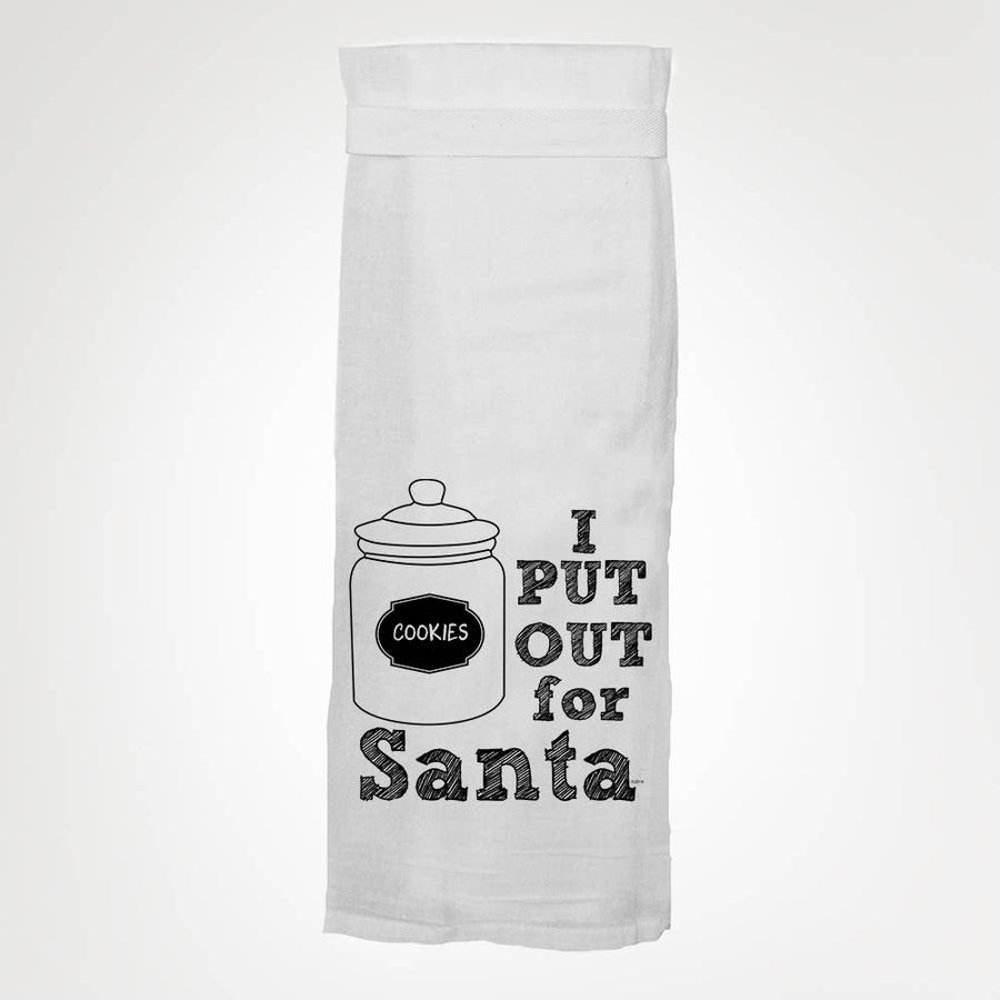 Put Out for Santa Kitchen Towel