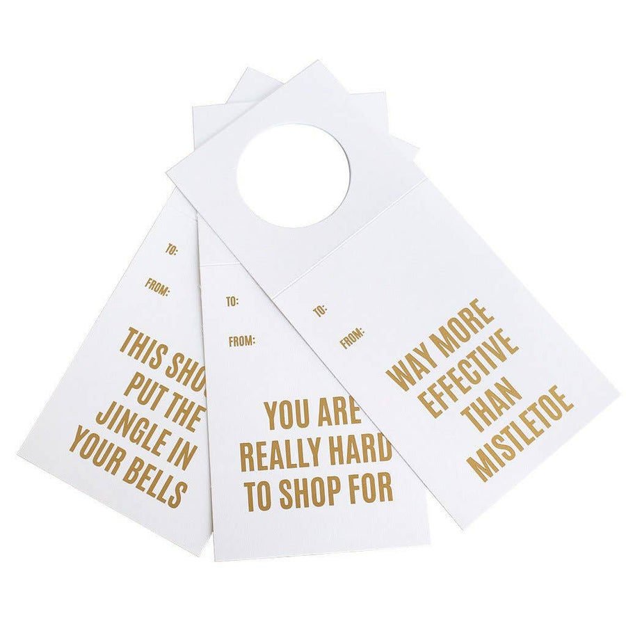 Holiday Three Pack Wine & Spirits Tags