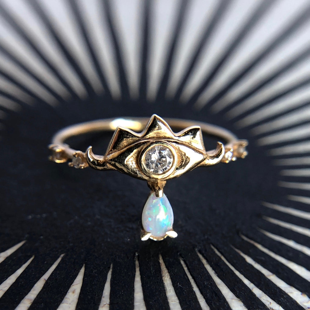 Eye Of Truth Ring