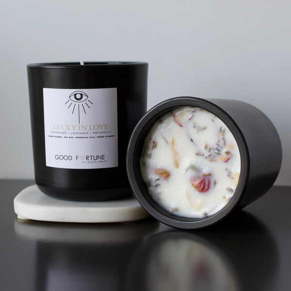 "Good Fortune ""Lucky in Love"" Candle"
