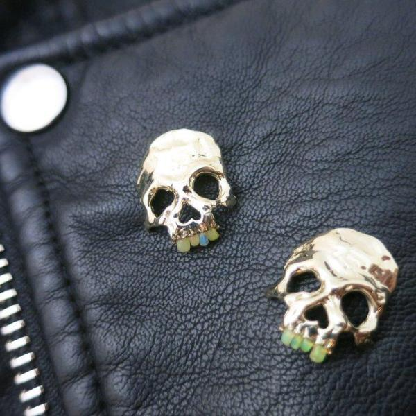 Opal Dust to Dust Teeth Pin