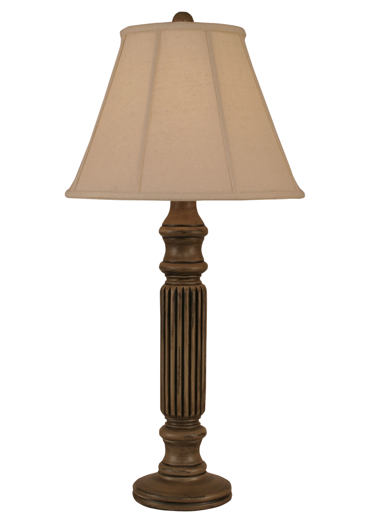 Aspen Ribbed Table Lamp - Coast Lamp Shop
