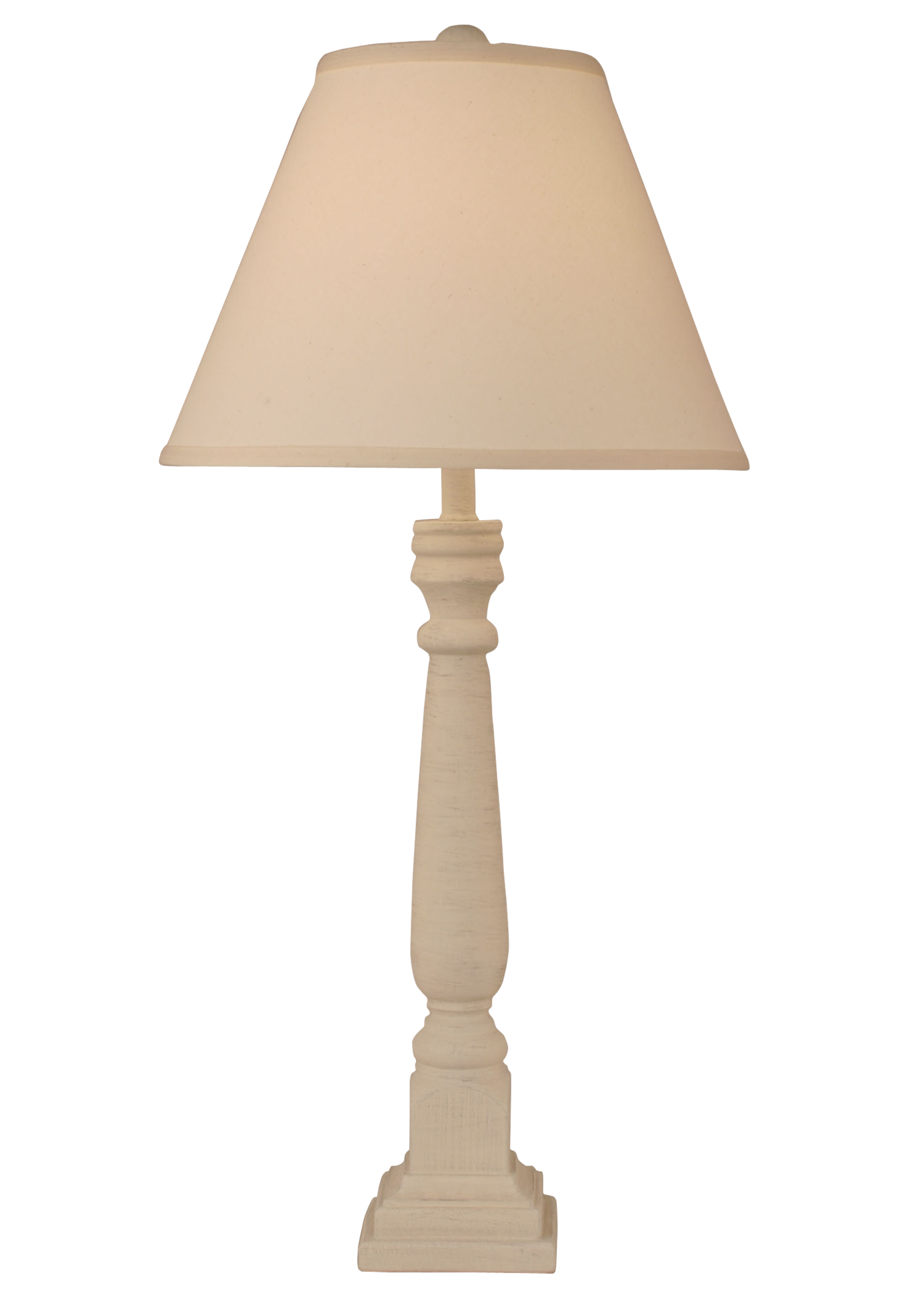 Cottage Square Buffet Lamp - Coast Lamp Shop