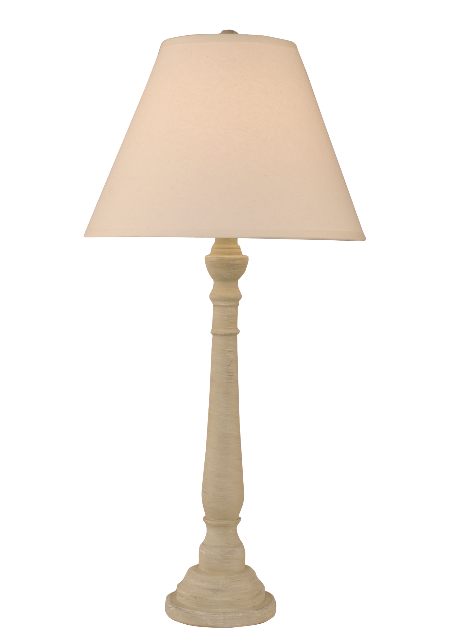 Cottaged Sisal Round Buffet Lamp - Coast Lamp Shop