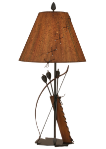 Riverwoods Bow and Arrow Table Lamp - Coast Lamp Shop