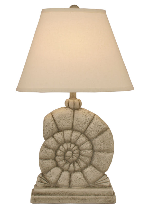 Seastone Sea Snail Table Lamp - Coast Lamp Shop