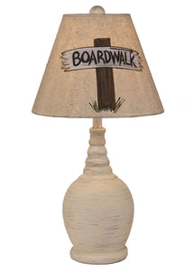 Boardwalk Sign Accent Lamp - Coast Lamp Shop