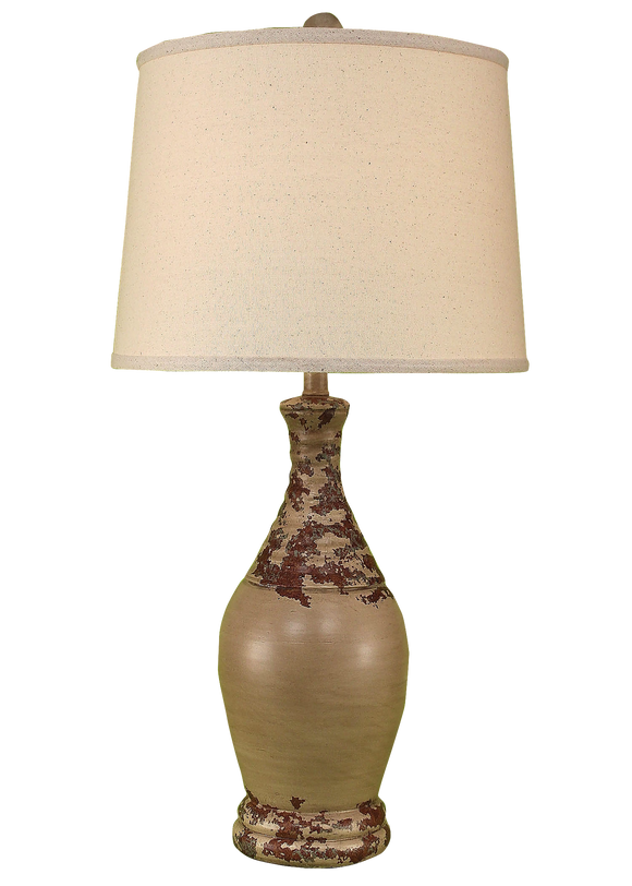 Vintage Ribbed Tear Drop - Coast Lamp Shop