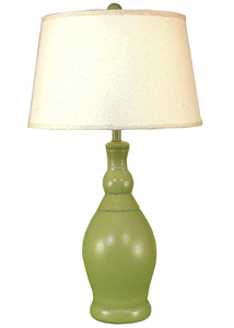 High Gloss Seagrass Slender Neck Casual Table Lamp - Coast Lamp Shop