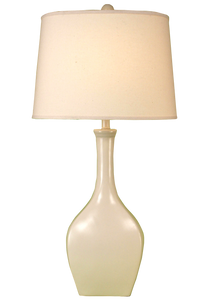 High Gloss Cottage Oval Genie Table Lamp - Coast Lamp Shop