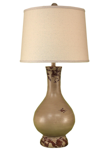 Aged Cottage Large Genie Bottle Table Lamp - Coast Lamp Shop