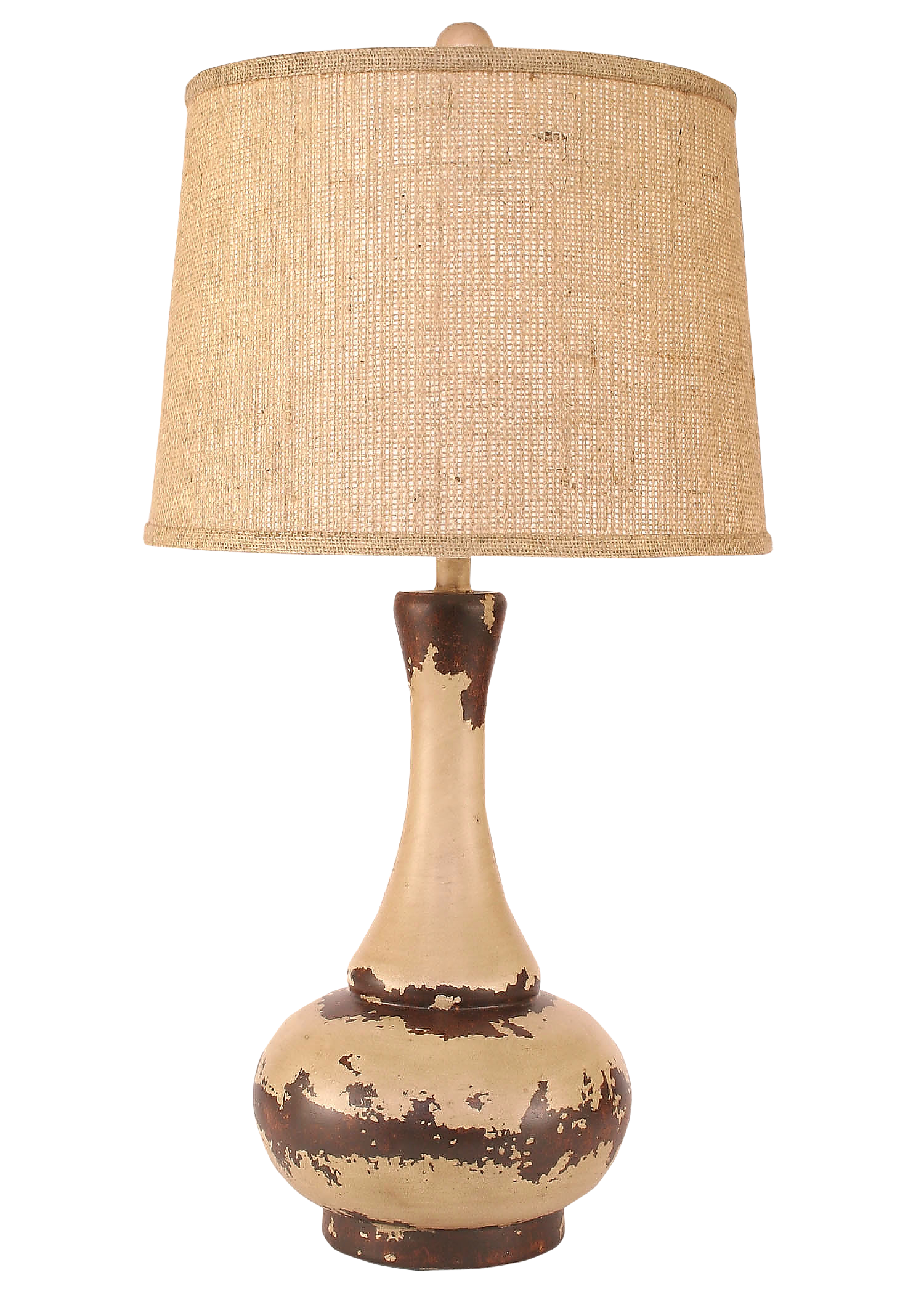Aged Cottage Aladdin Table Lamp - Coast Lamp Shop