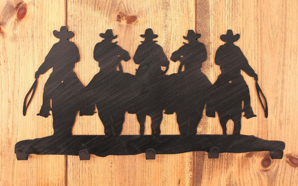 Iron Cowboy Coat Rack - Coast Lamp Shop