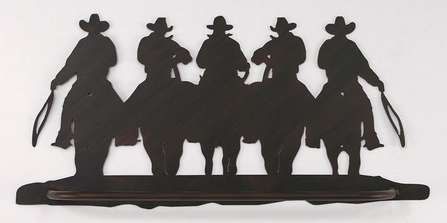 Iron Cowboy Towel Bar - Coast Lamp Shop