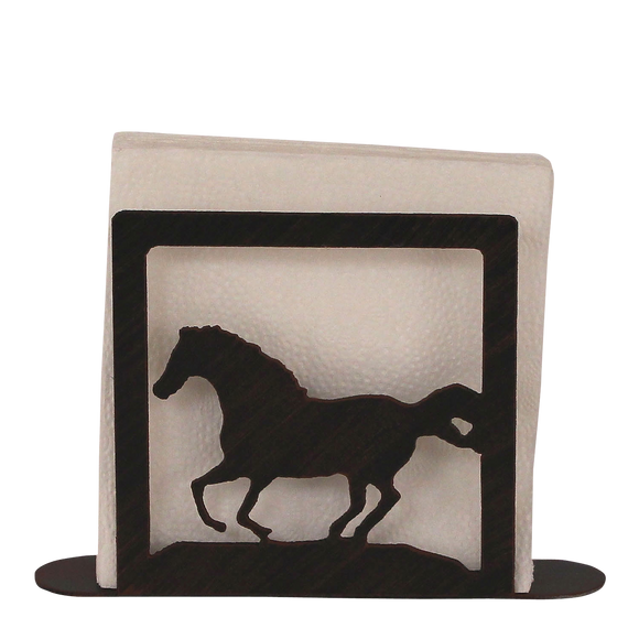 Iron Running Horse Napkin Holder - Coast Lamp Shop