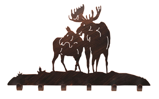Iron Moose Coat Rack - Coast Lamp Shop