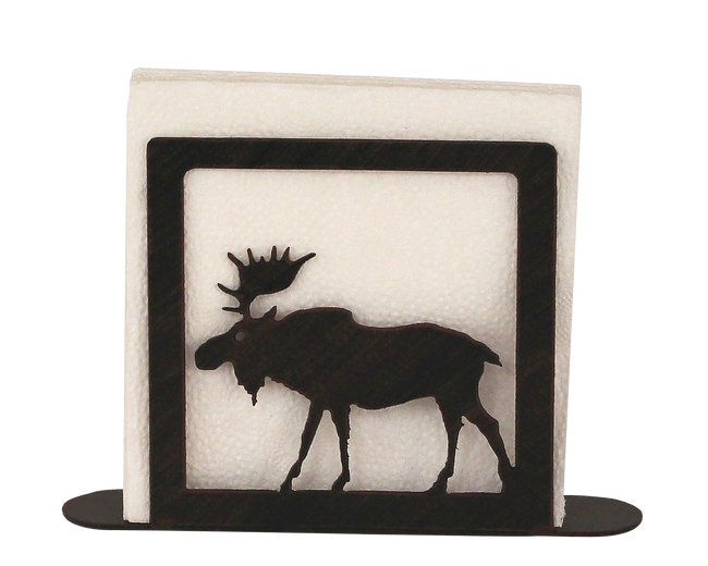 Iron Moose Napkin Holder