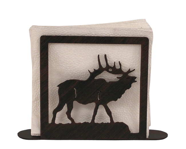 Iron Elk Napkin Holder - Coast Lamp Shop