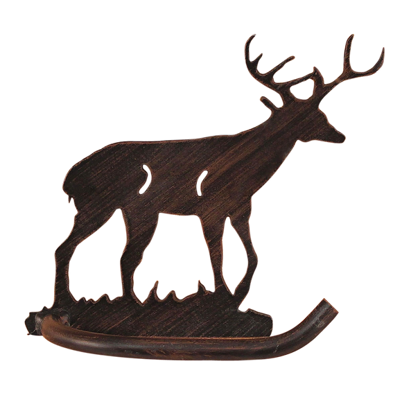Iron Deer Arm Toilet Paper - Coast Lamp Shop