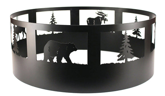 Wildlife Campfire Ring - Coast Lamp Shop