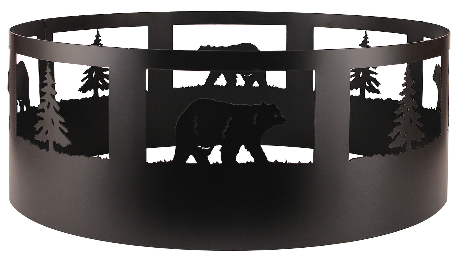 Bear/Tree Campfire Ring - Coast Lamp Shop