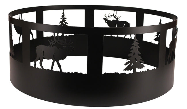 Elk/Tree Campfire Ring - Coast Lamp Shop