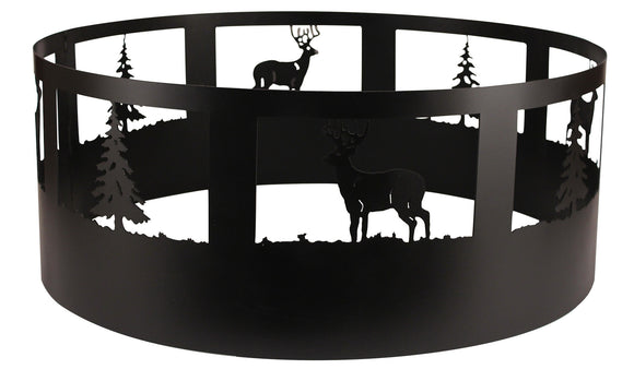 Deer/Tree Campfire Ring - Coast Lamp Shop